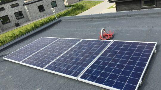 Værdistigning på huse med solceller